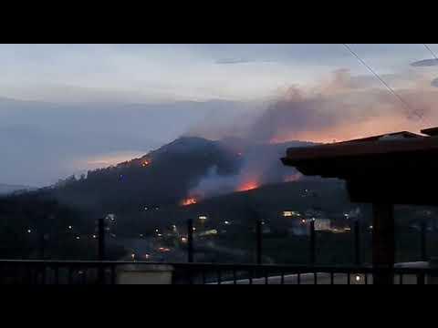 Incendio en Sobarzo