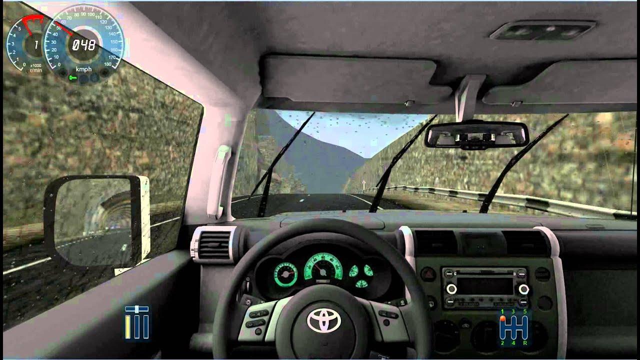 City Car Driving 1 2 5 Toyota Fj Cruiser Youtube