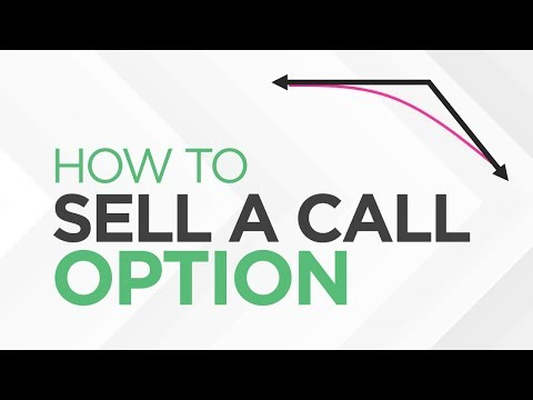 How to SELL a CALL Option – [Option Trading Basics]