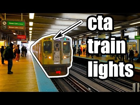 What do the lights on the L mean?