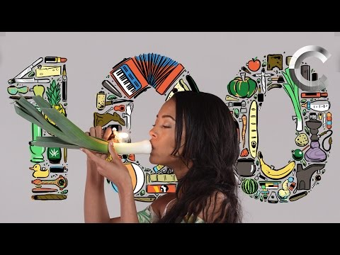Getting High   1 Person Shows Us 100 Ways to Get High