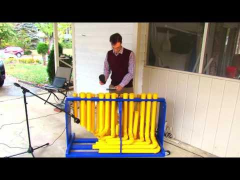 Tubulum PVC pipe Instrument, Super Mario Brothers theme
