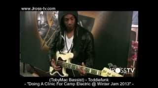 "James Ross @ (Bassist / TobyMac Band) - ToddieFunk - ""Camp Electric Clinic"" - www.Jross-tv.com"