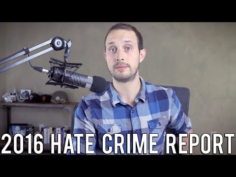 Can Someone Tell the Media Hate Crimes Are Actually Way Down? | 2016 FBI Data Release