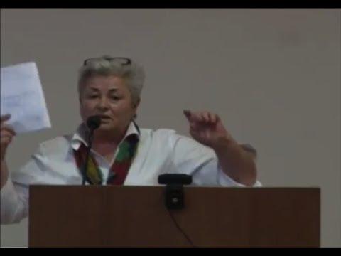 4. Speaker #3 (in Armenian): Dr. Hranush Kharatyan, National Academy of Sciences, RA