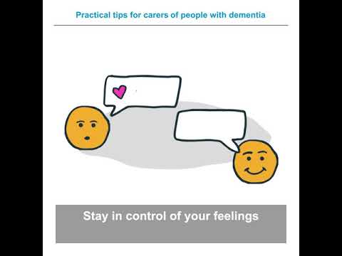 Advice for caregivers of people with dementia during COVID-19