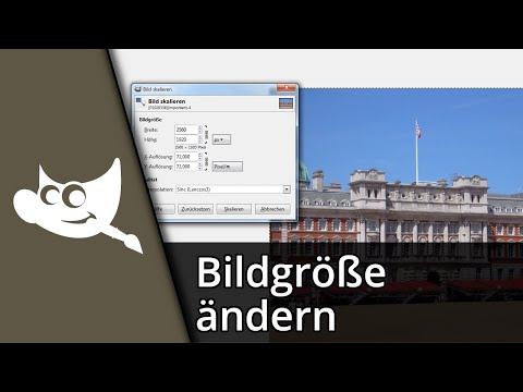 Gimp 2.8 Tutorial | Ebenen/Bildgröße ändern [Deutsch/HD]