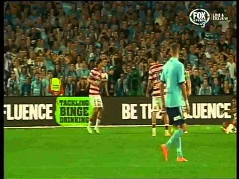 Ali Abbas Penalty Sydney Fc Vs Western Sydney Wanderers ( Includes Handball )