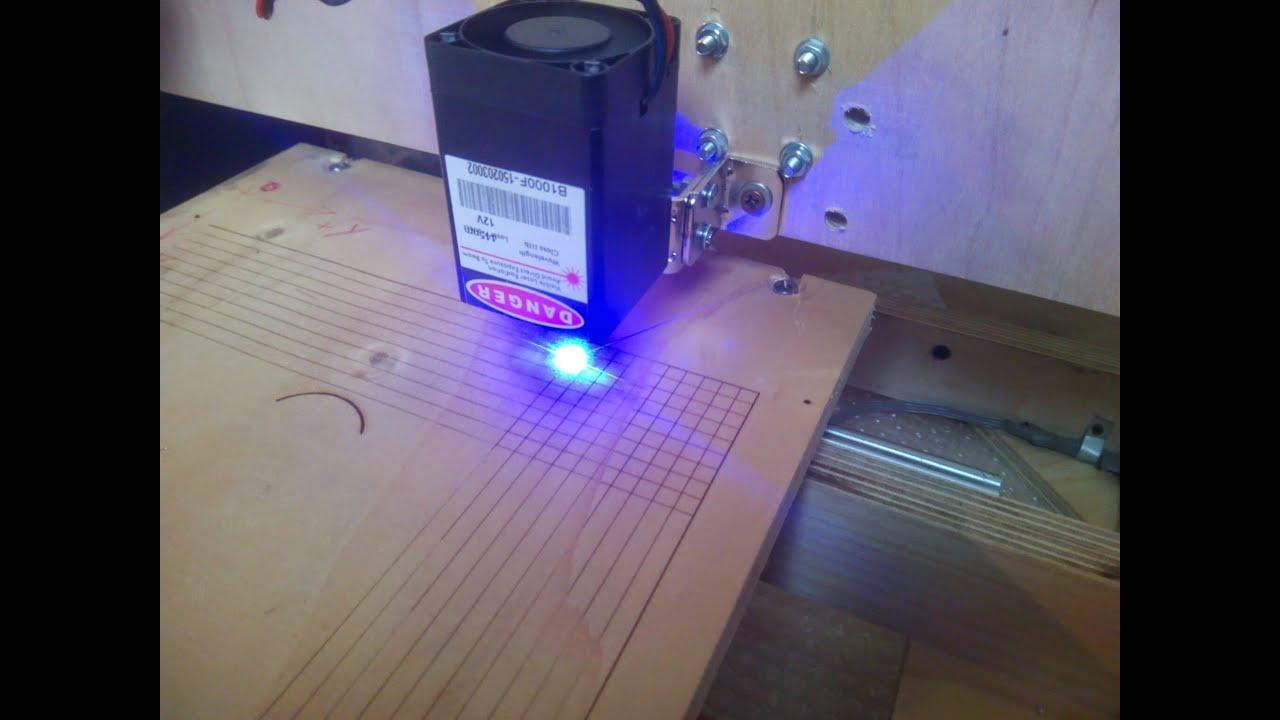Diy Cnc 1 Watt Laser Engraver Arduino Grbl Pololu