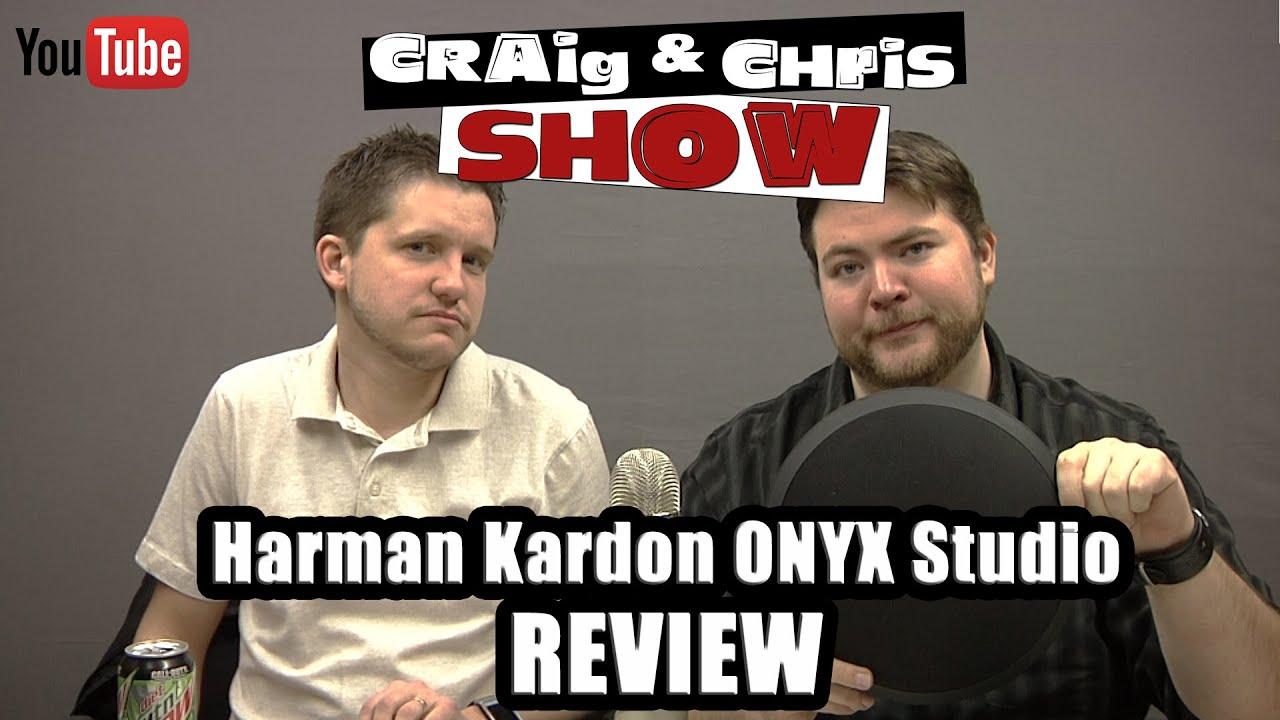 Harman Kardon Onyx Studio Bluetooth Speaker Review by Craig & Chris