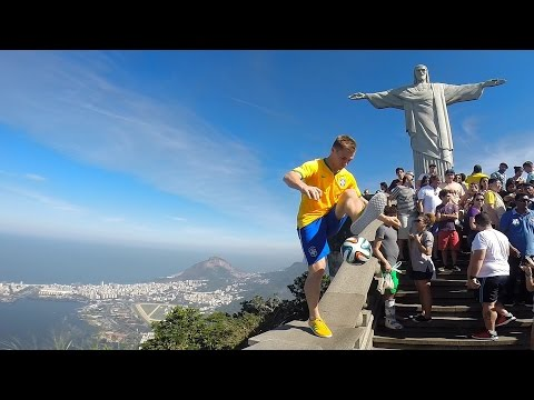 Brazil World Cup - Freestyle Football - Andrew Henderson