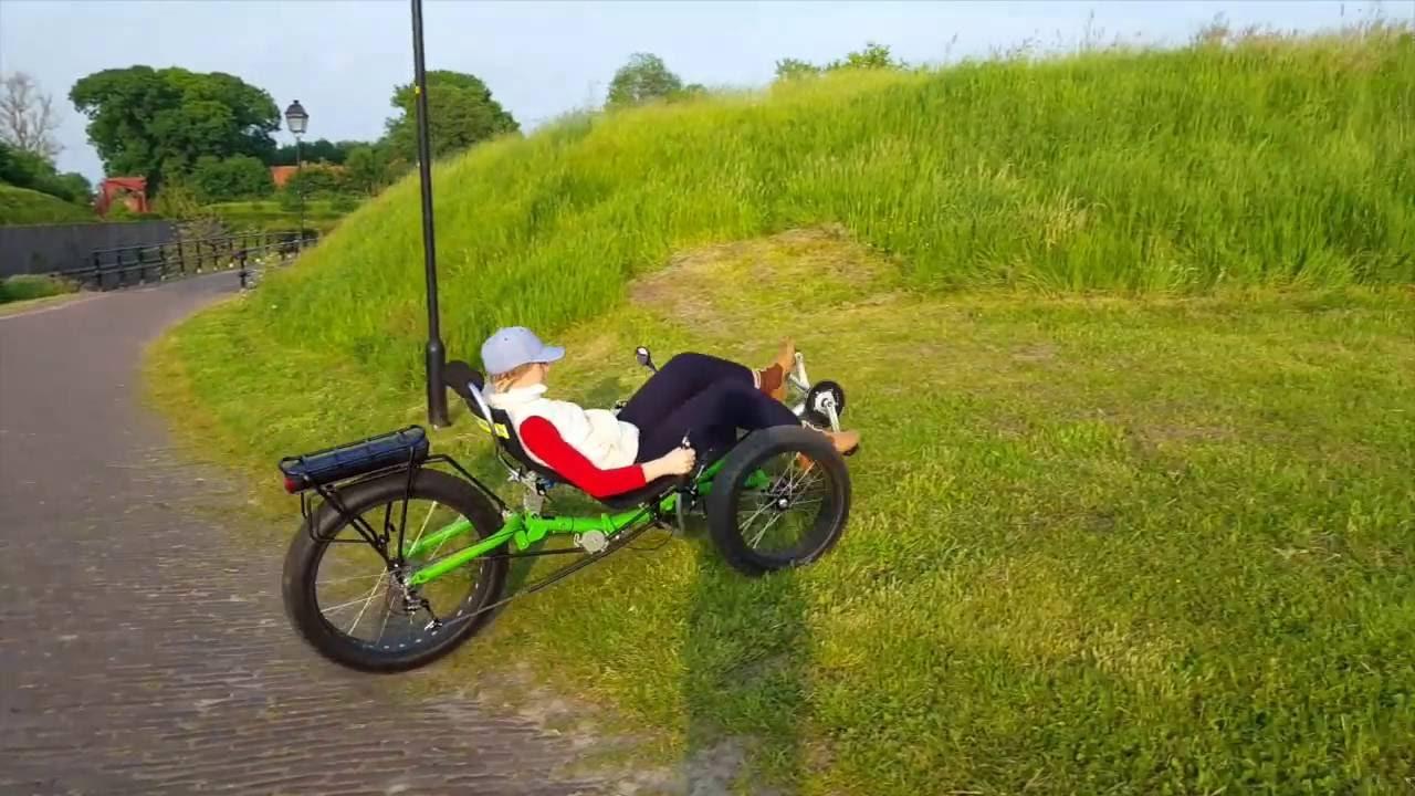 The Best Fat Trike Trekker fat Stability by Trident Trikes