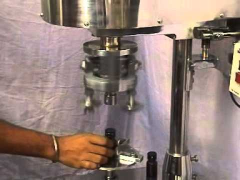 Swastik Bottle Cap Sealing Machine Motorised Youtube