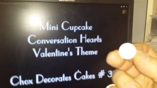 VR to Chox the Muse Mini Conversation Hearts