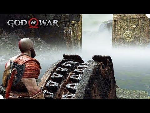 GOD OF WAR #7 - Explorando o Lago dos Nove! (PS4 Pro Gameplay em Português PT BR)
