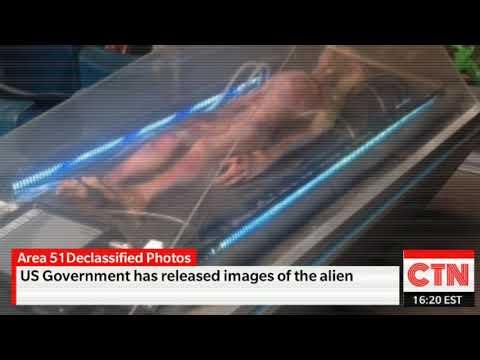 Area 51 Declassified Photos - Alien Body - UFO Crash - Breaking Space News Today