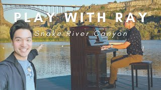 "#PlaywithRay in Snake River Canyon - Fritz Kreisler, ""Liebeslied"""