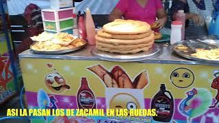 RUEDAS Ó JUEGOS MECANICOS DE LA COLONIA ZACAMIL MEJICANOS. SAN SALVADOR EL SALVADOR.