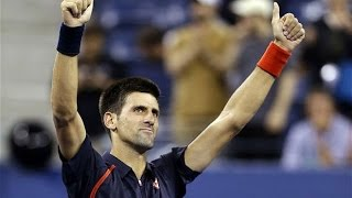 Novak Djokovic VS Juan Martin Del Potro Highlight 2012 QF