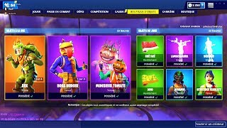 BOUTIQUE FORTNITE du 23 Avril 2019 ! ITEM SHOP April 23 2019 !
