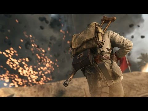 BATTLEFIELD 1 - GAMEPLAY MULTIPLAYER | MEDIC GAMEPLAY | PS4 PRO