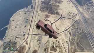 GTA V Car Air Drop Tests