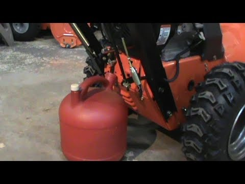 Easy way to drain your fuel tank on your small engine
