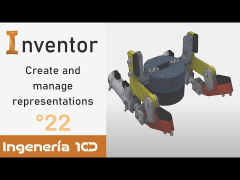Inventor English 2020 Create and manage representations 🧷