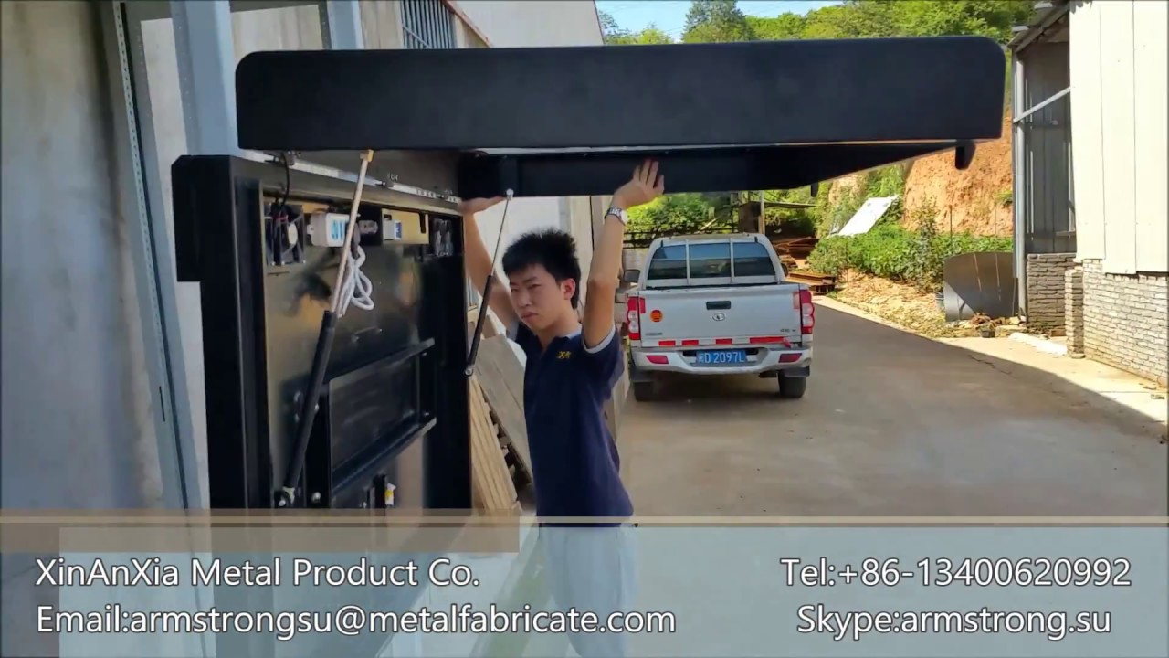 55 Outdoor waterproof TV enclosure - YouTube