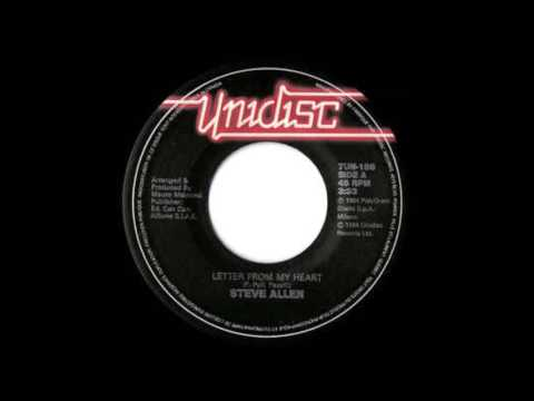 Steve Allen - Letter From My Heart (Instrumental Version). Italo Disco 1984