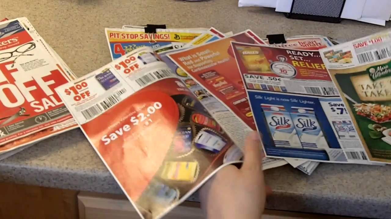 EXTREME COUPONING TIPS - SELECTING COUPONS - how to use coupons