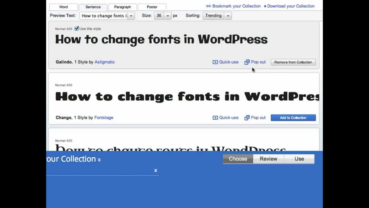 how to change wordpress frontpage