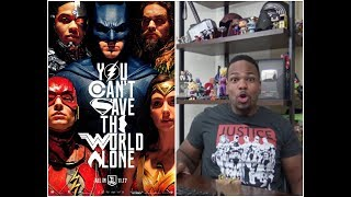 JUSTICE LEAGUE MOVIE REVIEW!!!