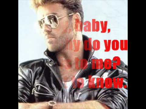 George Michael Too Funky with Lyrics by Jr