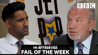 FAIL OF THE WEEK: Task blows up in candidates face! | The Apprentice - BBC