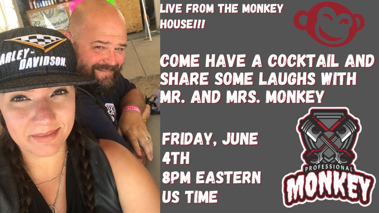 ProMonkey House Party - come and have a drink with the Monkeys!