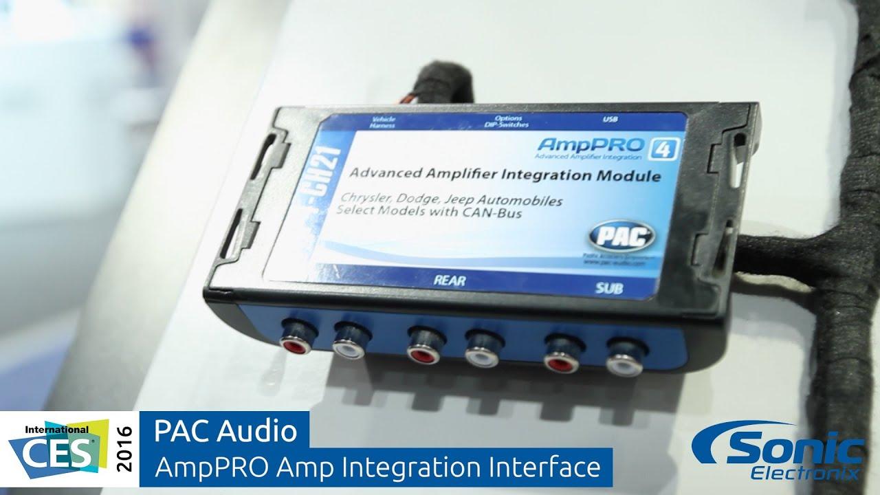 Pac Audio Amppro Advanced Amplifier Integration Interface