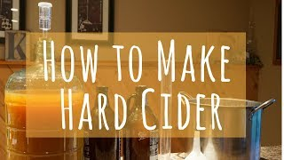 How to Make Hard Apple Cider at Home in Less than 10 Minutes (Part 1)
