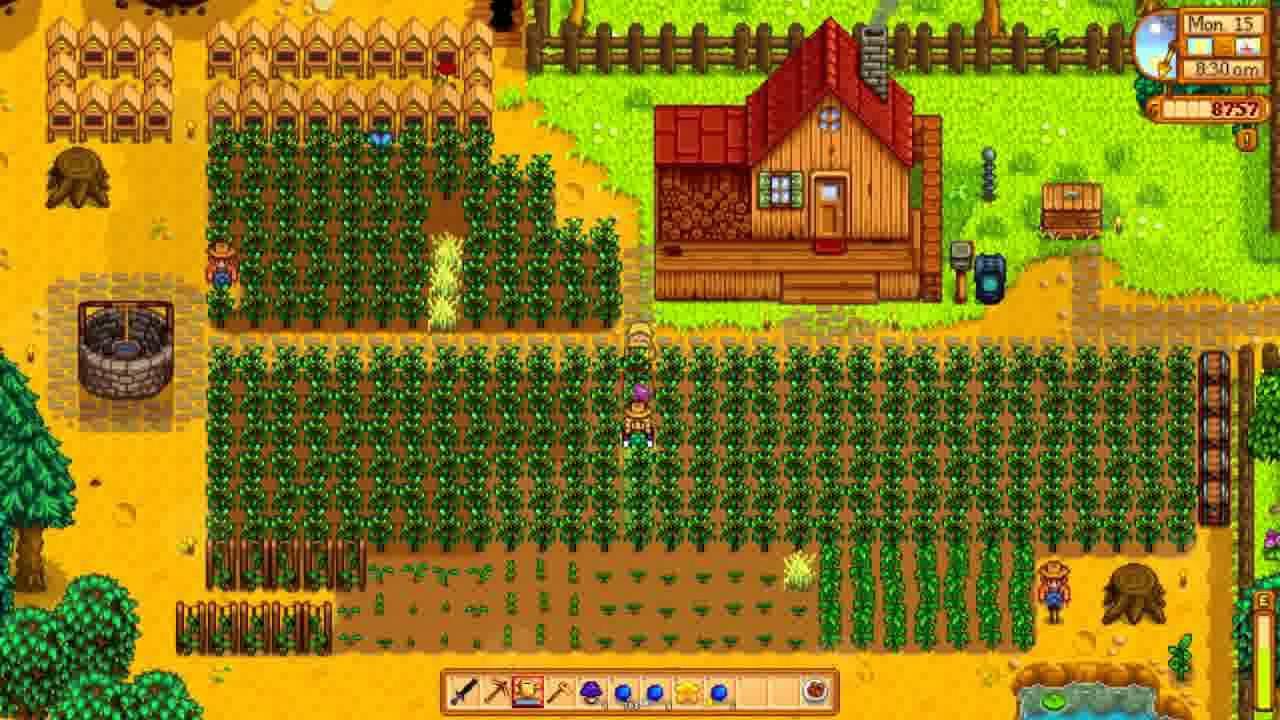 Stardew Valley - First Harvest, Summer Year 1 - YouTube