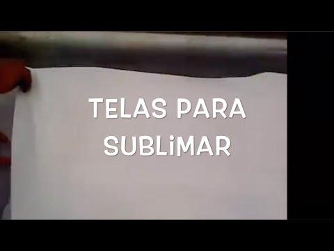 b37d0d7a2 Telas para sublimar - YouTube