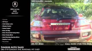 Used 2004 Acura MDX | Sunrise Auto Sales, Rosedale, NY