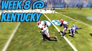 NCAA Football 13 - Herschel Walker Heisman Challenge: Week 8 @ Kentucky Wildcats