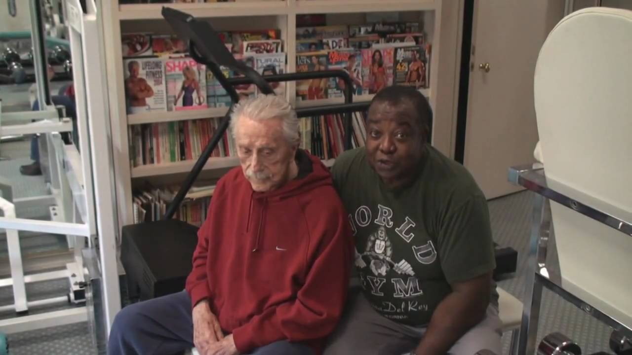 in the gym with leroy colbert and joe weider youtube