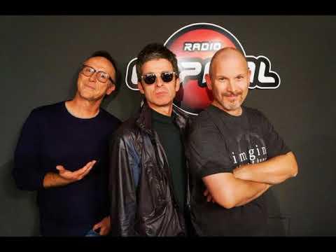 Noel Gallagher intervistato su Radio Capital, Milano [puntata del 24 novembre 2017]
