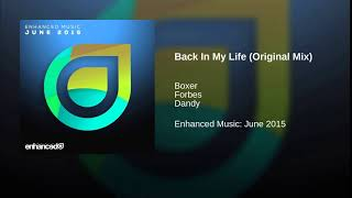 Скачать Boxer Forbes Pres Dandy Back In My Life Original Mix