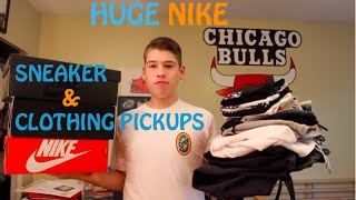 HUGE NIKE CLOTHING & SHOE HAUL (TECH FLEECE, JORDAN, AND MUCH MORE)