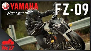 Yamaha FZ09 (MT-09) Full Review and Test Ride