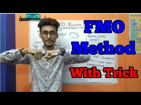 FMO METHOD OF ELECTROCYCLIC REACTION (WITH EASY TRICK)