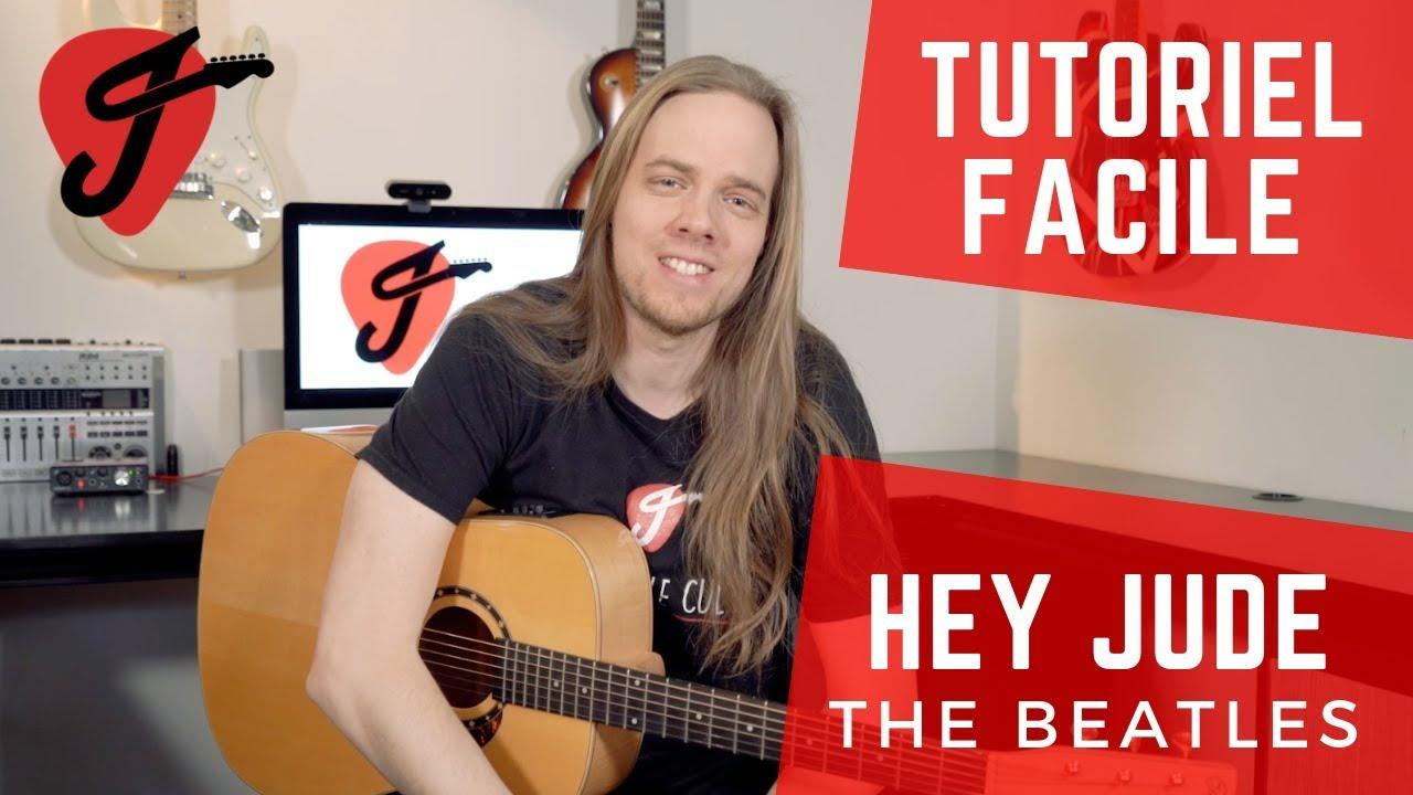 Cours de Guitare - The Beatles - Hey Jude (VERSION FACILE ...