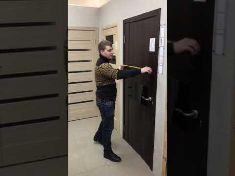 Как определить размер входной двери по проему